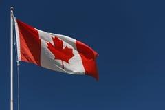 Drapeau canadien Image libre de droits