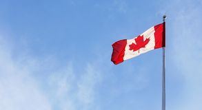Drapeau canadien Photo libre de droits