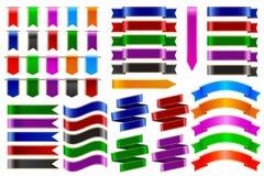 Drapeau coloré de bande Images libres de droits
