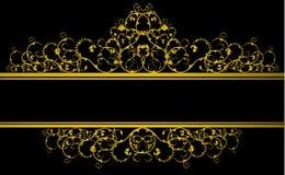 Drapeau décoratif Photographie stock