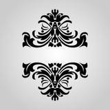 Drapeau décoratif de cru Image libre de droits
