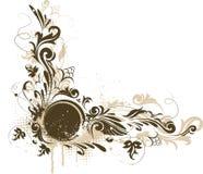 Drapeau décoratif grunge de vecteur Illustration Libre de Droits