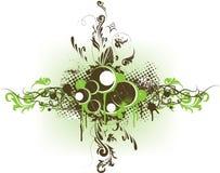 Drapeau décoratif grunge de vecteur Illustration de Vecteur