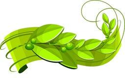 Drapeau d'écologie Image stock