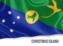 Drapeau d'Île Christmas d'état australien Images stock