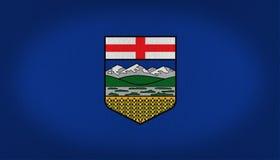 Drapeau d'Alberta Photos libres de droits