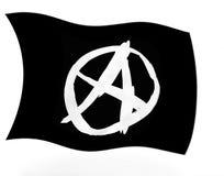 Drapeau d'anarchie Illustration de Vecteur