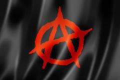 Drapeau d'anarchie Illustration Stock