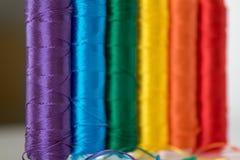 Drapeau d'arc-en-ciel Symbole de LGTB Photo libre de droits