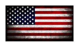 Drapeau d'illustration des Etats-Unis d'Amérique Photographie stock libre de droits