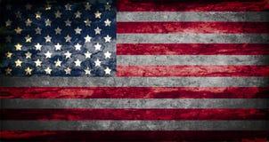 Drapeau d'illustration des Etats-Unis d'Amérique Image libre de droits