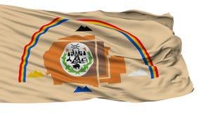Drapeau d'Indien de Navajo de l'Arizona, d'isolement sur le blanc illustration libre de droits