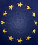 Drapeau d'Union européenne illustration libre de droits