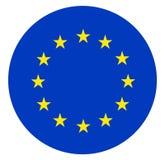 Drapeau d'Union européenne illustration de vecteur