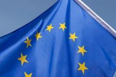 Drapeau d'Union européenne Photos stock