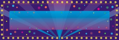 Drapeau de célébration Images stock