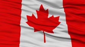 Drapeau de Canada de plan rapproché illustration libre de droits