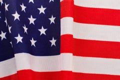 Drapeau de coton de fond des Etats-Unis Image libre de droits
