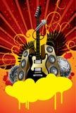 Drapeau de disco illustration libre de droits