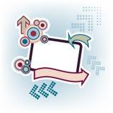 Drapeau de flèches Photographie stock libre de droits