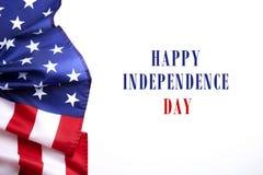 Drapeau de fond des Etats-Unis d'Amérique pour la célébration fédérale nationale de vacances et le jour de deuil de souvenir Symb Photo libre de droits