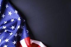 Drapeau de fond des Etats-Unis d'Amérique pour la célébration fédérale nationale de vacances et le jour de deuil de souvenir Symb Photographie stock