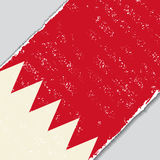 Drapeau de grunge du Bahrain Illustration de vecteur Photographie stock libre de droits