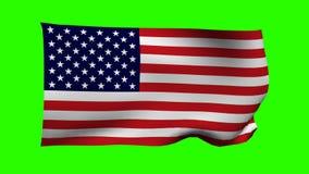 Drapeau de Keyable des Etats-Unis illustration libre de droits
