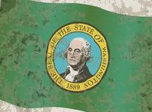 Drapeau de l'état de Washington Photographie stock