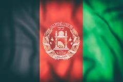 Drapeau de l'Afghanistan Images stock