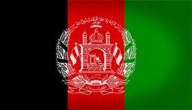 Drapeau de l'Afghanistan Photos libres de droits