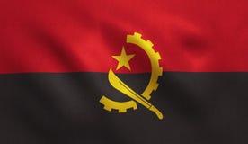Drapeau de l'Angola Image libre de droits