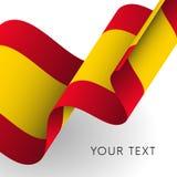 Drapeau de l'Espagne Vecteur illustration libre de droits