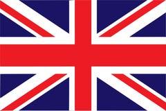 Drapeau de l'illustration EPS10 de vecteur du Royaume-Uni illustration de vecteur