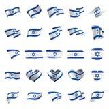 Drapeau de l'Israël, illustration de vecteur illustration libre de droits