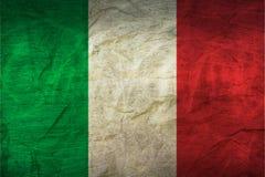 Drapeau de l'Italie sur le papier illustration libre de droits