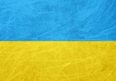 Drapeau de l'Ukraine photo stock