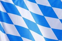Drapeau de la Bavière Photographie stock libre de droits