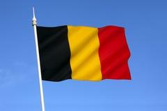 Drapeau de la Belgique - l'Europe image stock
