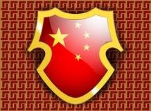 Drapeau de la Chine Photos stock