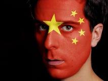 Drapeau de la Chine Photographie stock libre de droits