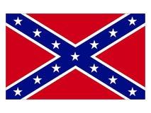 Drapeau de la confédération illustration libre de droits