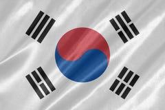 Drapeau de la Corée du Sud images stock