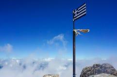 Drapeau de la Grèce Photo libre de droits