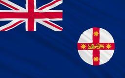 Drapeau de la Nouvelle-Galles du Sud illustration de vecteur