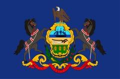 Drapeau de la Pennsylvanie, Etats-Unis illustration libre de droits