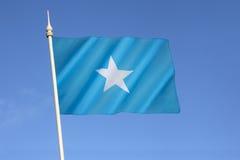Drapeau de la Somalie Photographie stock libre de droits