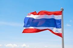 Drapeau de la Thaïlande. Photographie stock