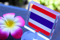 Drapeau de la Thaïlande Photos stock