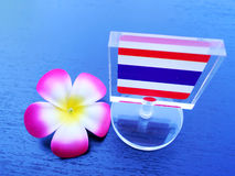 Drapeau de la Thaïlande Photo stock